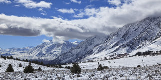 Mountains in the winter Royalty Free Stock Photo