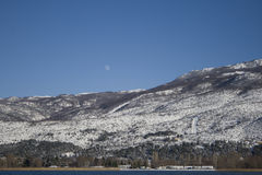 Mountains on the winter Royalty Free Stock Photos