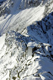 Mountains in winter - Romania Royalty Free Stock Images