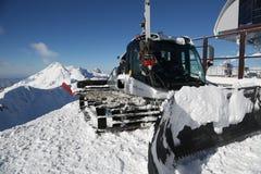 The mountains. Winter slopes of the Aibga Ridge Royalty Free Stock Image