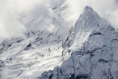 Mountains winter snow Royalty Free Stock Photography