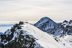 Mountains in winter. Stock Image