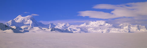 Mountains in Wrangell-St.Elias National Park, Alaska stock images