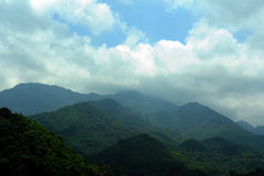 Mountains in Wuyan Royalty Free Stock Images