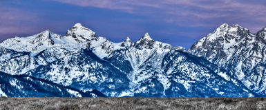 Mountains of Wyoming Royalty Free Stock Image