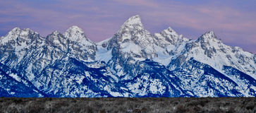 Mountains of Wyoming Stock Photography