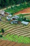 Mountains& x22 da paisagem; dao& x22 do ing de segunda-feira; A área de Chiang Mai é o cume no distrito da vila de Hmong Foto de Stock