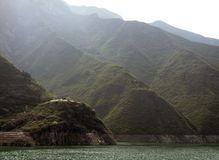 Mountains at Yangtze River Royalty Free Stock Photography