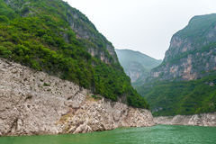 Mountains on the Yangtze River Stock Images