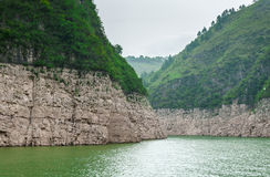 Mountains on the Yangtze River Royalty Free Stock Photo