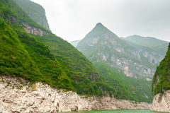 Mountains on the Yangtze River Stock Photography