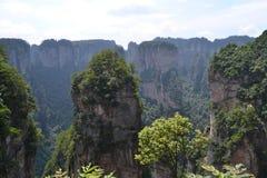 Mountains. The mountains of zhangjiajie china Stock Photography