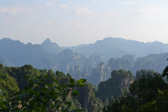 Mountains. The mountains of zhangjiajie china Stock Photo