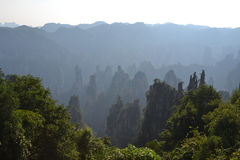 Mountains. The mountains of zhangjiajie china Stock Photos