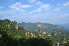 Mountains. The mountains of zhangjiajie china Royalty Free Stock Photography