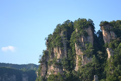 Mountains. The mountains of zhangjiajie china Stock Image