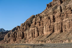 Mountains in Zhangye Royalty Free Stock Photography