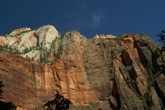 Mountains at Zion National Park, Utah Stock Photography