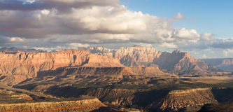 Mountains in Zion NP, Utah Royalty Free Stock Photos