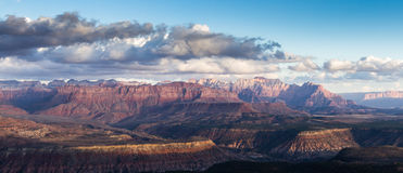 Mountains in Zion NP, Utah Royalty Free Stock Photography