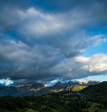 Mountainscape Royalty-vrije Stock Fotografie