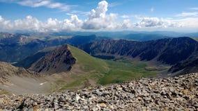 Mountainscape. View of mountains in colorado Stock Photos