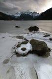 Mountainscape vivo Fotos de archivo