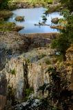 Mountainsee. Stockbild