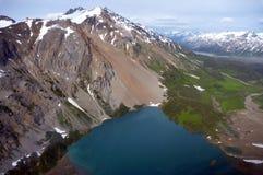 Mountainsee stockfotos