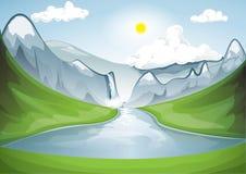 Mountainsee Lizenzfreie Stockbilder