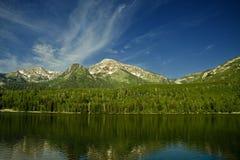 Mountainsee stockfoto