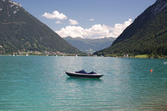 Mountainsee Lizenzfreies Stockfoto