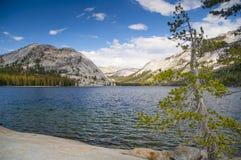 Mountainsee bei Yosemite Stockfotos