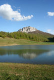 Mountainsee in Bosnien Stockfotos
