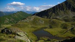Mountainsee, gelber See Stockbilder