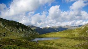 Mountainsee, gelber See Stockfotografie