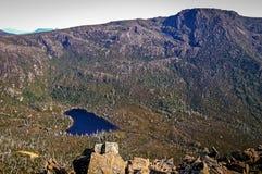 Mountainsee an Mt-Feld, Tasmanien, Australien stockbilder