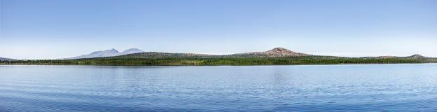 Mountainsee in Norwegen stockfotos