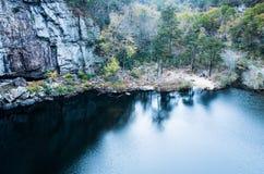 Mountainsee-Reflexionen Lizenzfreies Stockbild