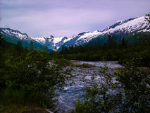 Mountainside της Αλάσκας Στοκ εικόνα με δικαίωμα ελεύθερης χρήσης