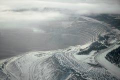 mountainside χειμώνας Στοκ Φωτογραφία