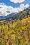 Mountainside in Autumn Royalty Free Stock Photography