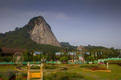 Mountainside in Chonburi Stock Photo
