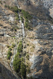 Mountainside Waterfall Royalty Free Stock Photo