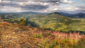 Mountainsin Σλοβακία Στοκ εικόνες με δικαίωμα ελεύθερης χρήσης
