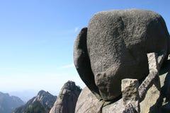 Mountaintop boulders Stock Photos