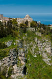 Mountaintop Church, Erice, Sicily Stock Photo