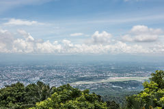 Mountaintop View From Wat Phra That Doi Suthep Stock Image