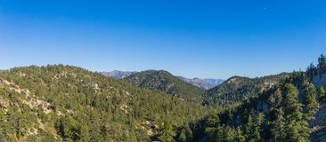Mountaintops Spread in Southern California Royalty Free Stock Image