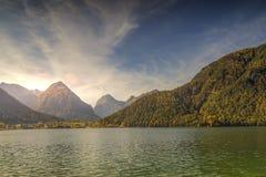 Mountainview auf dem Achensee Tirol Lizenzfreie Stockbilder